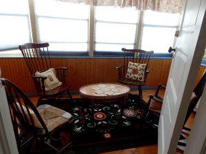 Carmichael Room, sitting room.